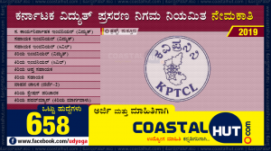 KPTCL Recruitment 2019